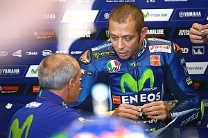 MotoGP Actualités Rossi a pris la piste, pour un premier test après sa blessure