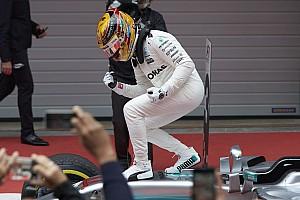 Formule 1 Statistiques Stats - Hamilton, le Kid de Shanghai