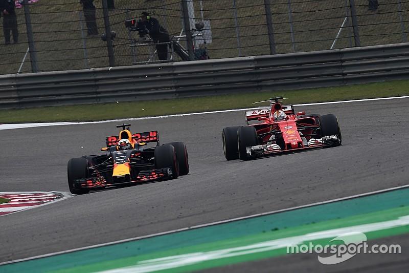 """Vettel : """"Lewis a toujours pu répondre à mon rythme"""""""