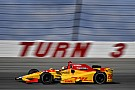 IndyCar Pocono IndyCar: Hunter-Reay leads opening practice, Carpenter crashes
