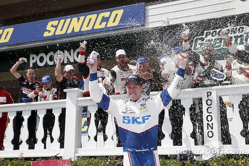 Daniel Suárez logra quinto sitio en Pocono