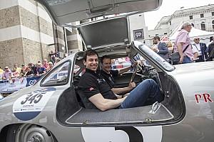 Formula 1 Intervista Wolff rapito dalla 1000 Miglia: