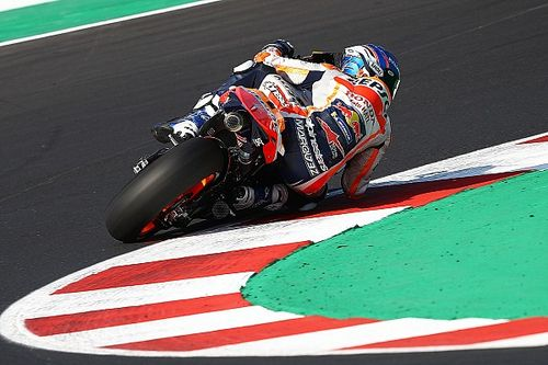 "Marquez: Honda MotoGP bike ""out of control"" in qualifying"