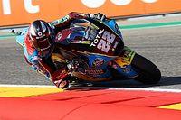 Moto2, Aragon: disastro VR46, vince Lowes. Bastianini leader!