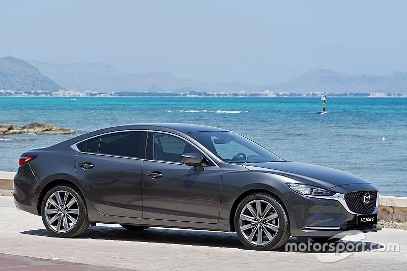 Оновлена Mazda 6 дебютувала в Україні