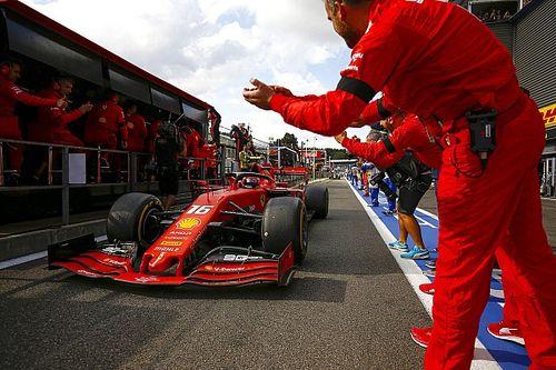 Leclerc felice: Ferrari gli regala la SF90 con cui vinse a Spa
