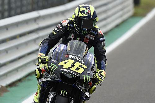 """Rossi: """"Mi trovo bene con la M1, il mio passo non è male"""""""