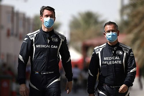 F1 medical car crew replaced after COVID positive tests
