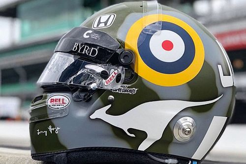Davison pays tribute to legendary airman grandfather at Indy 500