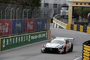 Macau GT: Marciello snatches pole for Mercedes