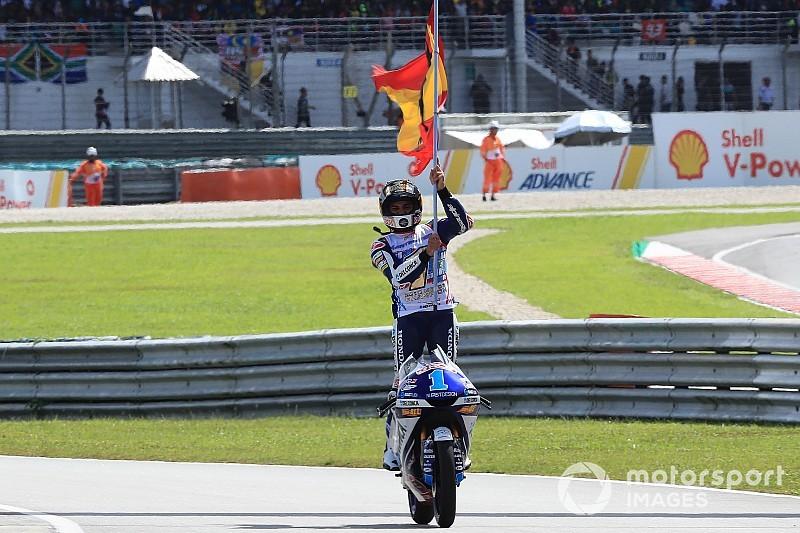 Sepang Moto3: Martin Sepang'da şampiyonluğunu ilan etti
