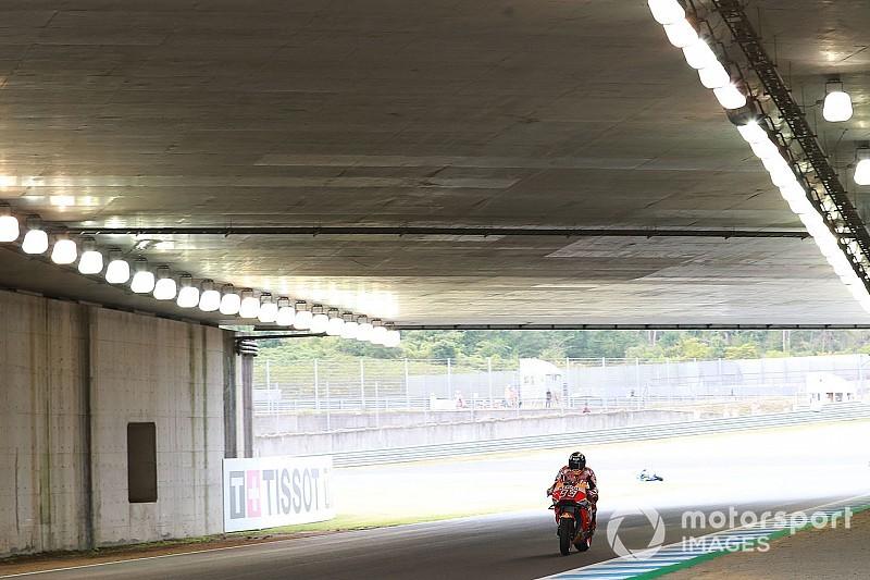 Гран Прі Японії: Маркес найшвидший у четвертій практиці попри аварію