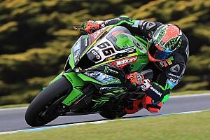 Superbike-WM News Kawasaki: Rea und Sykes stürzen beim Testauftakt
