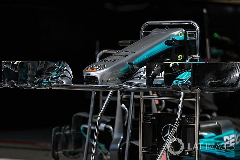 Red Bull, Mercedes'in ön kanadının çalınmasına engel olmuş