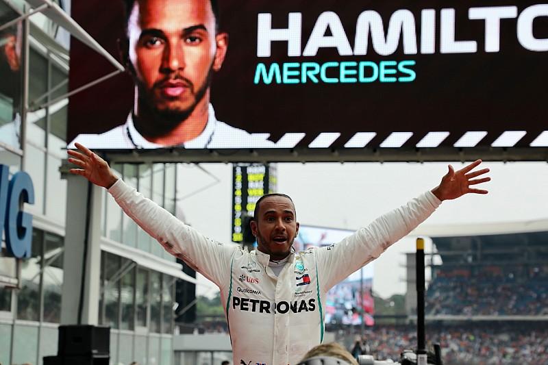 Hamilton, elegido 'Piloto del día' del GP de Alemania 2018
