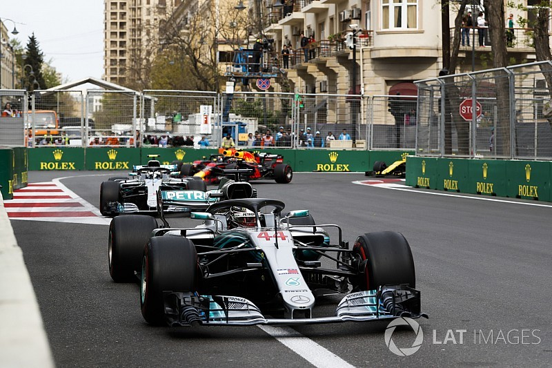 "Hamilton admits Baku win feels ""a bit odd"""