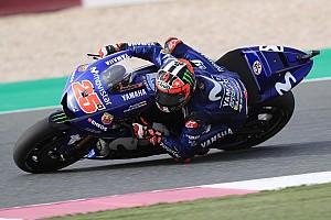 """MotoGP Nieuws Viñales met vragen in Qatar: """"Voel me niet goed op de motor"""""""