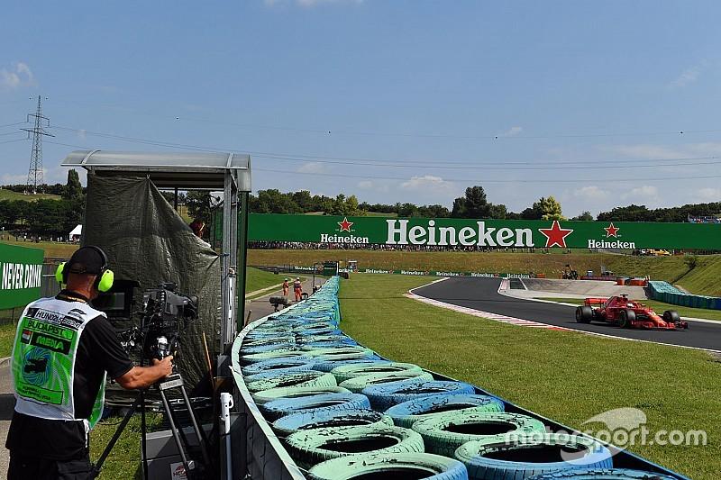La F1 repensará las posiciones de las cámaras de TV para 2019