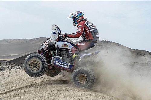 Se terminó la buena racha de Casale en el Dakar