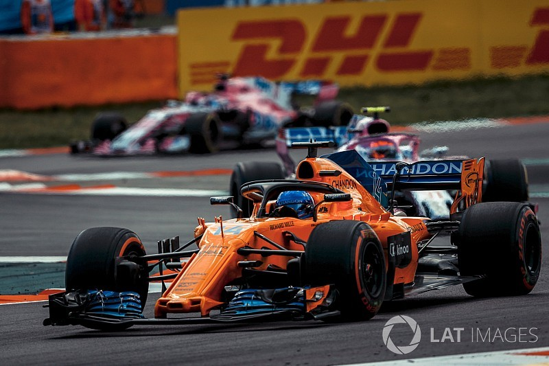 Alonso: McLaren has caught Renault/Haas