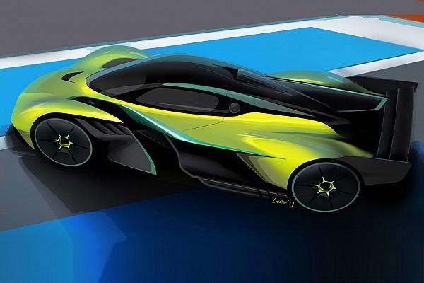 Автомобили Новость В Aston Martin представили гоночную версию гиперкара Ньюи