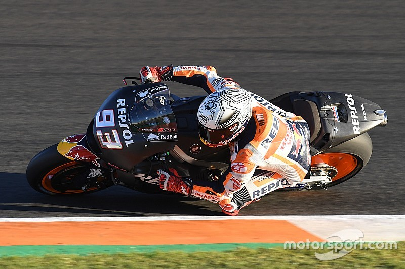 MotoGP-Test Valencia 2017: Marc Marquez fährt an die Spitze