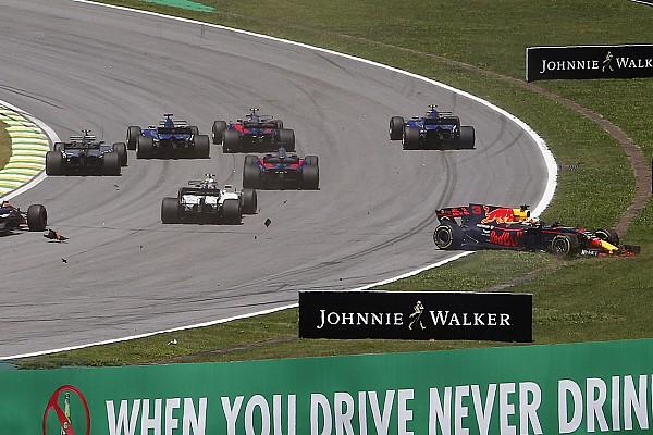 Magnussen, Vandoorne ile girdiği üçlü kazada Ricciardo'yu görmemiş