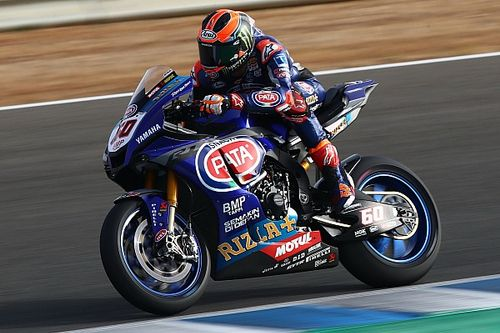 Hitte breekt Van der Mark op bij seizoenshervatting in Jerez