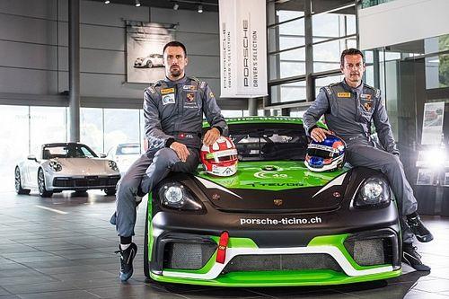 Le Team Centri Porsche Ticino en GT4 European Series avec Camathias et Jacoma