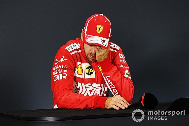 Vettel è deluso: