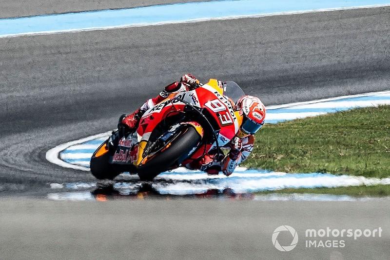 Гран Прі Таїланду: Маркес випередив двох гонщиків Yamaha у розминці