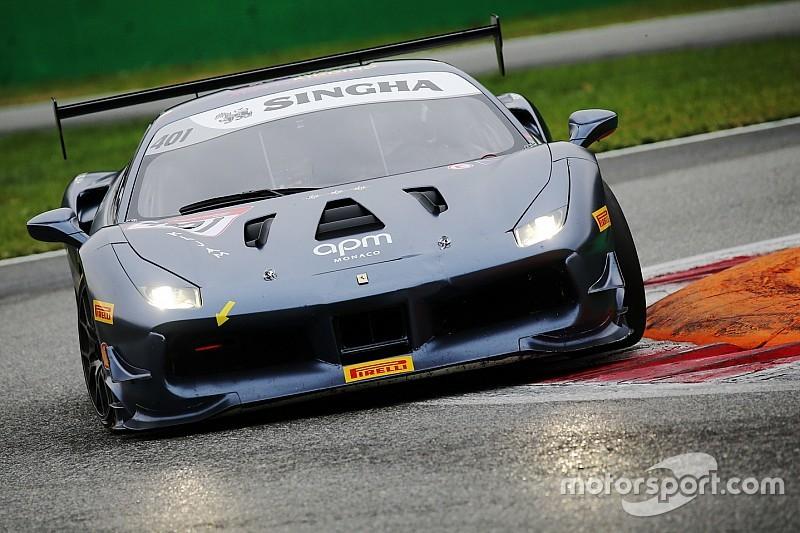 Prette è un leone e vince il titolo Pirelli AM del Ferrari Challenge APAC in Gara 2 a Monza