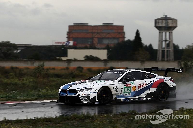 Zanardi legt IMSA test af met BMW M8 GTE
