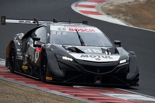 Mugen Honda tops first day of Okayama Super GT test