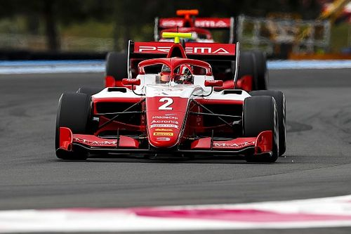 F3ポールリカール・レース2:ルクレール弟が初優勝! 兄シャルルも祝福。岩佐歩夢ペース上がらず9位