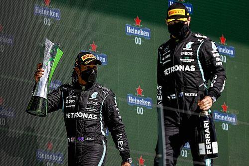 Hamilton: Le kellene szállni Bottasról, a miénk a legerősebb páros!