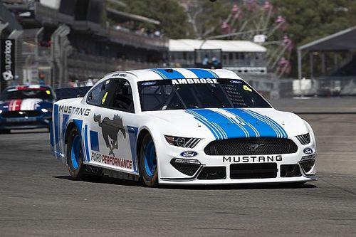 Ambrose 'felt right at home' on NASCAR return