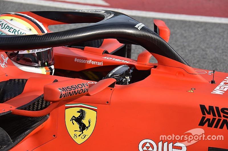 """Kiderült: """"kéziféket"""" takar az extra kar Vettel kormánya mögött"""