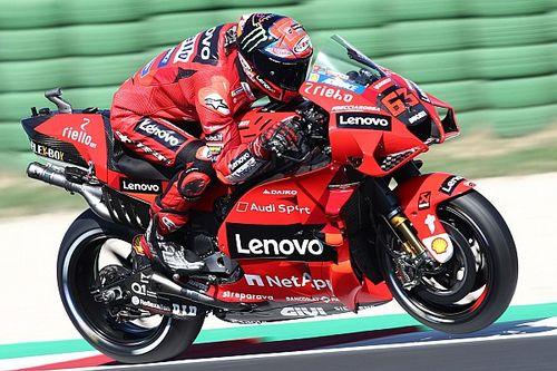 Misano MotoGP: Bagnaia leads Ducati 1-2 in qualifying