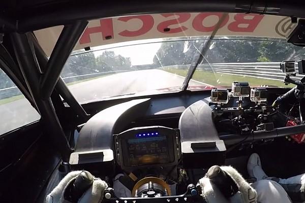 6 perc rettegés a Nordschleifén egy BMW M4 DTM fedélzetén