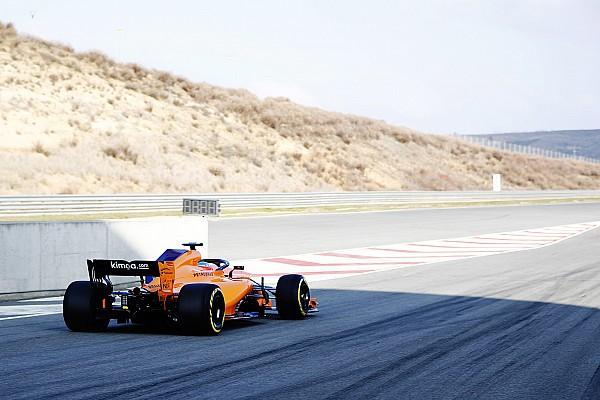 F1 速報ニュース 新車初走行のアロンソ「チームを誇りに思う」とファンへメッセージ