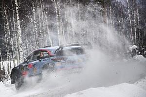 WRC Yarış ayak raporu İsveç Rallisi: Neuville son güne 22 saniyelik farkla lider giriyor