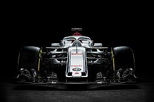 Sauber muestra su nuevo auto F1