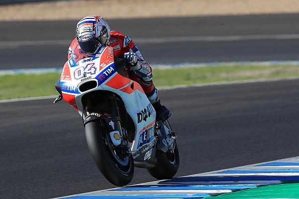 Dovizioso verbreekt ronderecord op tweede testdag Jerez