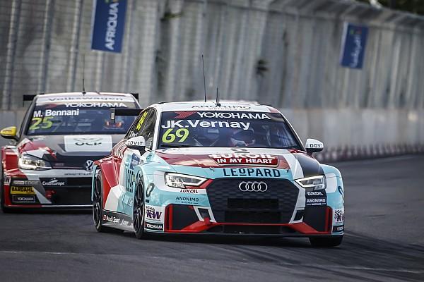 WTCR Rennbericht WTCR Marrakesch 2018: Audi-Sieg durch Vernay in Rennen 2