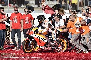 MotoGP Reaktion MotoGP-Champion 2017 Marc Marquez: