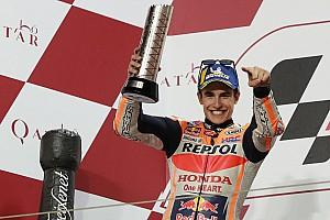 Kembali dikalahkan Dovizioso, Marquez tetap puas