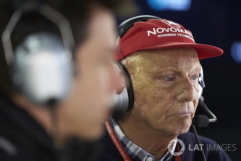 Lauda está preocupado por el futuro de la F1 con Liberty