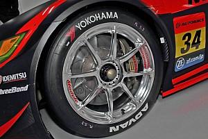 光輝く34号車NSXのホイール。美しさだけでなく熱対策の意味合いも?
