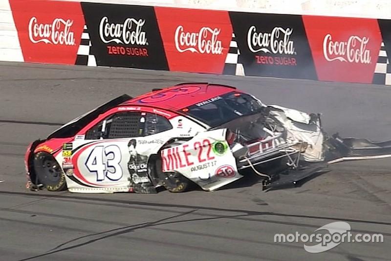Wallace: Pocono crash